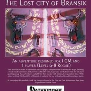 One on One Gaming - The Lost City of Bransik: Part One