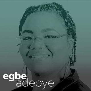 "Egbe Adeoye - ""Decolonising HR"""