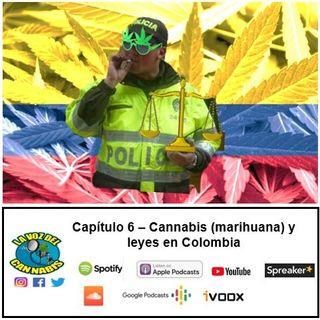 Capítulo 6 - Cannabis (marihuana) y leyes en Colombia