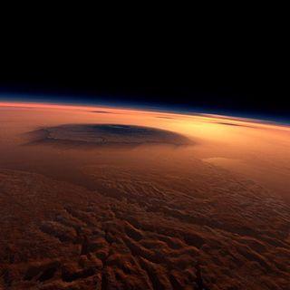 Humans Orbiting Mars!