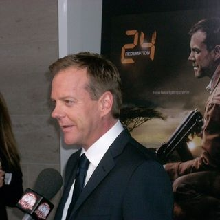 Kiefer Sutherland Stops By To Discuss His NEW TV Show