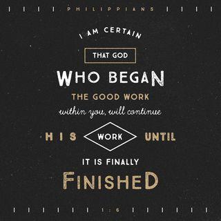 Episode 45: Philippians 1:6 (February 15, 2018)