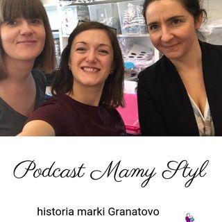 #003 - Mamy Styl - Jak się ubrać do porodu - Granatovo