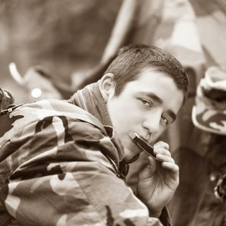 A Soldier And His Harmonica