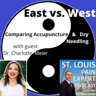 East vs. West - Comparing Acupuncture & Dry Needling with guest Dr. Charlotte Meier