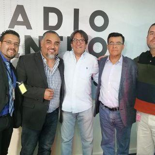 Mesa de debate con Álvaro Delgado, Miguel Badillo y Vicente Serrano