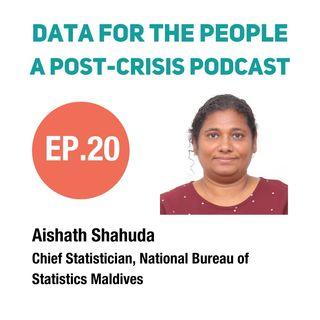 Aishath Shahuda - Chief Statistician at the National Bureau of Statistics in Maldives