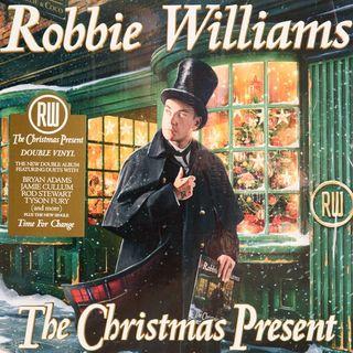 ROBBIE WILLIAMS ha realizzato un album in cui interpreta brani classici del Natale....
