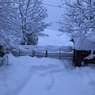 #bergamo Il y a de la neige