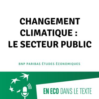 #04 – Changement climatique : le secteur public