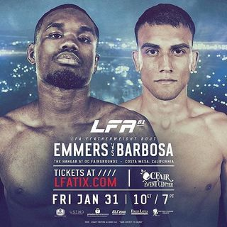 "FightBookMMA Fighter Focus: Jamall ""Pretty Boy"" Emmers"
