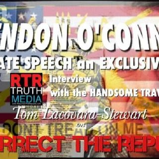 BRENDON O'CONNELL - HATE SPEECH an EXCLUSIVE INTERVIEW with the HANDSOME TRAVELER