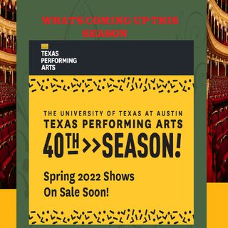 Texas Performing Arts Celebrates 40 Years On The 40 Acres on Staccato