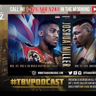 🇺🇸 🇬🇧 Anthony Joshua set to Make U.S. Debut😱 VS Jarrell Miller @ MSG💯🙌🏿