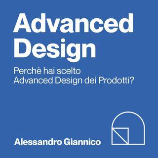 Alessandro, iscritto al 1° anno di Advanced Design Università di Bologna