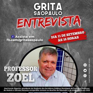 Professor Zoel dá aula de cidadania e ações sindicais aos ouvintes