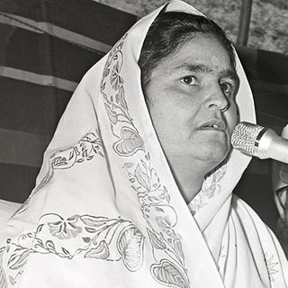 Hyderabad, TS, March 15, 1981: Discourse by Nirankari Rajmata Ji