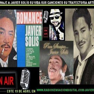 """RECORDANDO AL """"REY DEL BOLERO"""" JAVIER SOLÍS"""