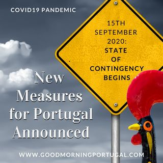 Portugal news, weather & today: State of Contingency measures