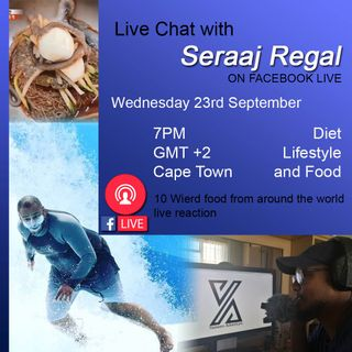 Episode 2 - Diet and food chat with Seraaj Regal