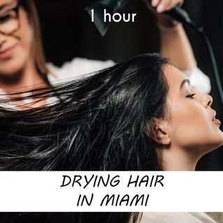 Drying Hair in Miami | 1 hour HAIRDRESSER Sound Podcast | White Noise | ASMR sounds for deep Sleep | Relax | Meditation | Colicky