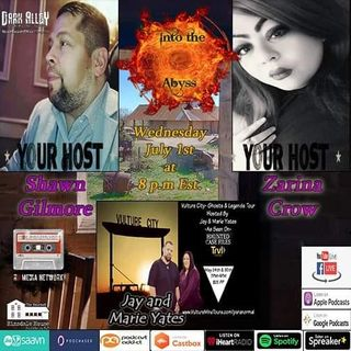 Into The Abyss Special Guests Jay And Marie Yates