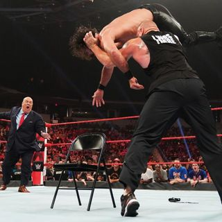 WWE Raw Review: Brock's Brutal Beatdown of Seth l Maria Kanellis as 24/7 Champion l Is WWE Turning Becky Lynch Heel?