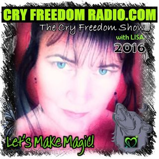 THE CRY FREEDOM SHOW LIVE: Wed 16th March 2016 with JON SHACKLETON