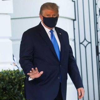 Darán reporte médico sobre salud de Trump