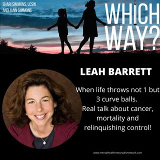 When life throws, not 1 but 3 curveballs - Real talk about cancer, mortality and relinquishing control