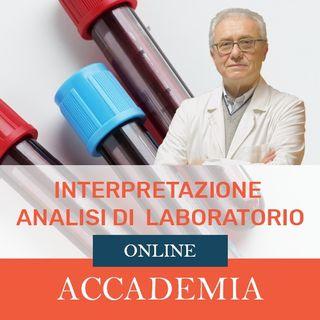 Presentazione Corso: Interpretazione Analisi di Laboratorio