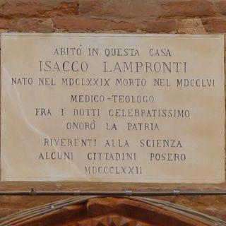 3 febbraio 1679. Nasce Isacco Lampronti