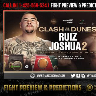 ☎️Ruiz vs Joshua 2 It's Official❗️🔥It's REALLY In🇸🇦Saudi Arabia on December 7😱