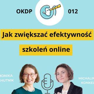OKDP 012 Jak zwiększać efektywność szkoleń online