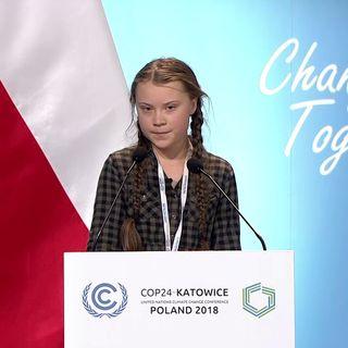 I giovani in sciopero contro il cambiamento climatico