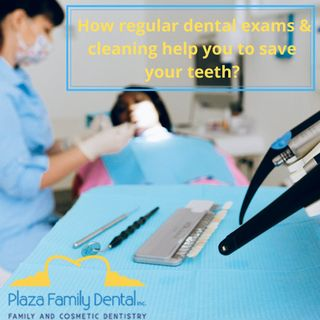 What are the procedures includes in  Dental cleanings?