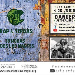 """""""Danger AK"""" Rap & Yerbas Prog 20"""