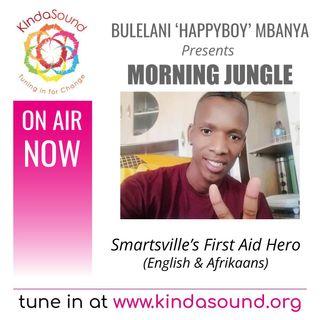Smartsville's First Aid Hero | Morning Jungle with Bulelani Mbanya (Afrikaans/Eng)