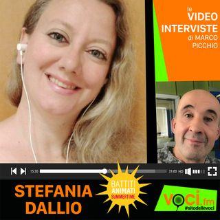 """STEFANIA DALLIO presenta """"BATTITI ANIMATI SUMMERTIME su VOCI.fm RADIO - clicca PLAY e ascolta l'intervista"""