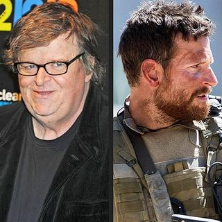 Michael Moore tweets on American Sniper