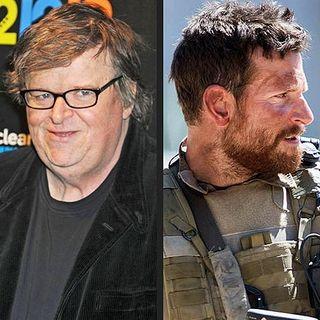 Michael Moore tweets on American Sniper