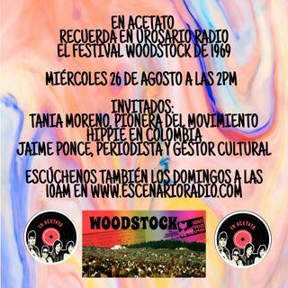 Woodstock, paz, amor y música