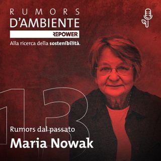 Maria Nowak: pioniera del microcredito
