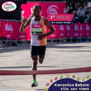 KENENISA BEKELE GANA 21K EN LONDRES Episodio 101 - ATLETISMO EN MEXICO's show