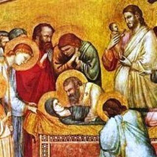 La morte di Maria e l'assunzione in cielo