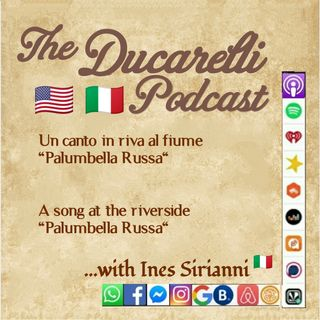 Palumbella Russa Rive al Fiume By the Riverside Dialect - Dialetto Calabrese Ines Sirianni