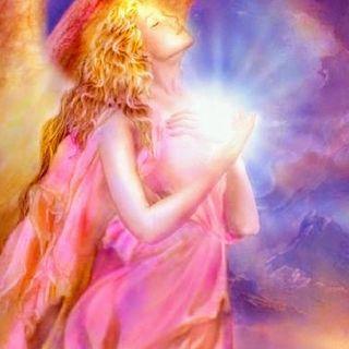 Martes: Rayo de luz rosa para el amor. Arcangel Chamuel.