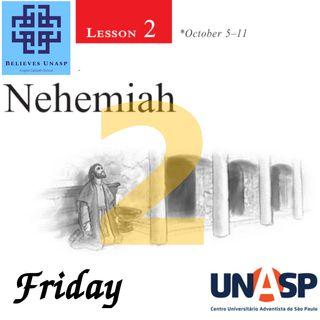 Sabbath School Oct-11 Friday