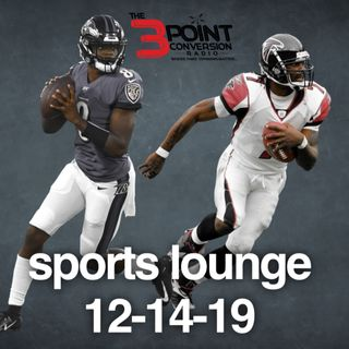 The 3 Point Conversion Sports Lounge- Can The Ravens Be Stopped, Can RB Win Heisman, All-Decade Team,