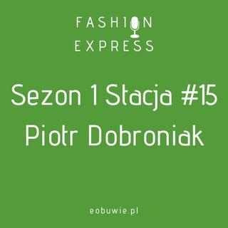 Sezon 1 Stacja 15: Szczepan rozmawia z Piotrem Dobroniakiem m.in. o skarpetkach z Oxfordu